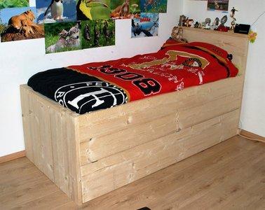 Wonderlijk Steigerhouten bed - Sam's meubelen TT-44